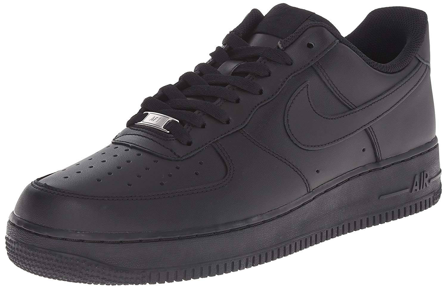 best service efb66 13296 all black nike shoes